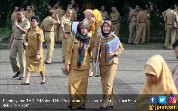 Asyik ! THR untuk PNS Cair Pekan Depan - JPNN.com