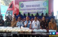 70 Kg Ganja dari Aceh Masuk Bogor, Diselundupkan Lewat Ban Mobil - JPNN.com