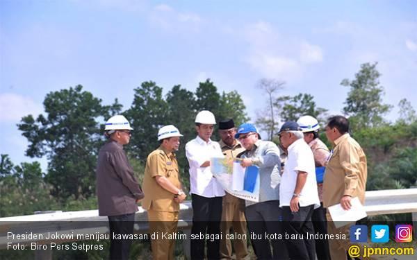 Dari Balikpapan, Jokowi ke Palangka Raya Tinjau Lokasi Calon Ibu Kota Negara - JPNN.com