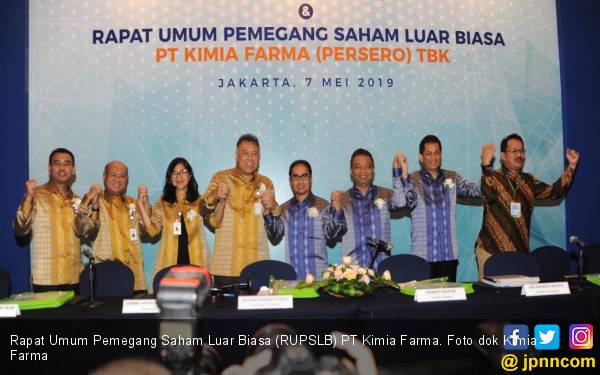 Gelar RUPST, Kimia Farma Bagikan Dividen Rp 83,2 Miliar - JPNN.com