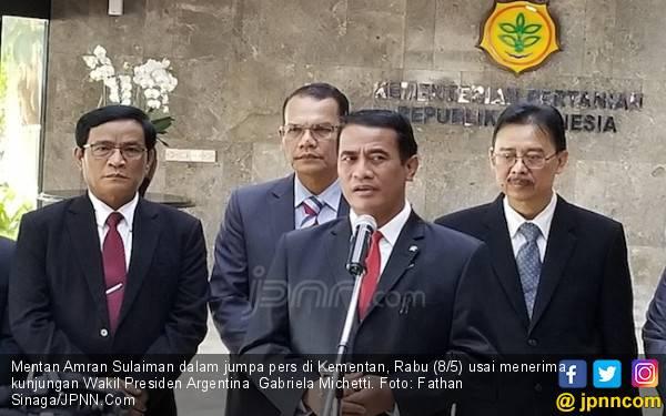 Menteri Amran Sebut Wapres Argentina Kaget Tahu Indonesia Swasembada Jagung - JPNN.com
