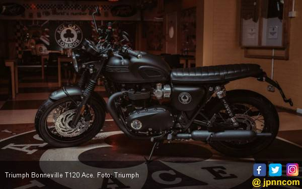 Tempat Nongkrong Jadi Inspirasi Edisi Spesial Triumph Bonneville - JPNN.com
