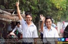 Bebas dari Penjara, Dua Jurnalis Reuters Tak Kapok Ungkap Kebobrokan Myanmar - JPNN.com