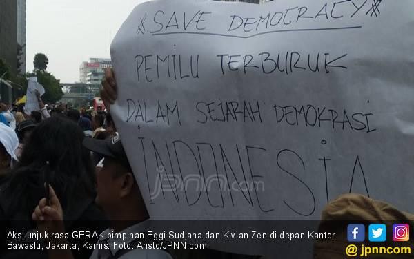 22 Mei Mau Ikut Demo Terserah, Tetap di Rumah Alhamdulillah - JPNN.com