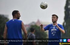 Latihan Perdana Berkesan, Rene Mihelic Janjikan Performa 100 Persen - JPNN.com