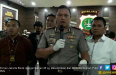 Polres Jakarta Barat Amankan 28 Kg Sabu Kiriman dari Amerika Serikat - JPNN.com