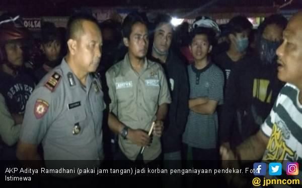 Kasat Reskrim Polres Wonogiri Dikeroyok Pendekar - JPNN.com