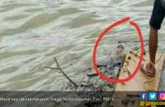 Mayat Bayi Hanyut di Sungai Sedati Kebumen - JPNN.com