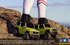 Unik, Suzuki Jimny Dijadikan Sepatu Roda - JPNN.com