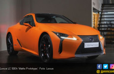 Lexus LC 500h Edisi Spesial Tampil Mentereng - JPNN.com