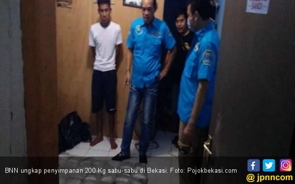 Begini Modus 200 Kg Sabu di Bekasi Bisa Lolos ke Indonesia - JPNN.com