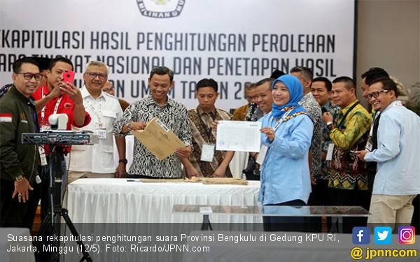 Di Bengkulu, Jokowi - Ma'ruf Kalah, PDIP Malah Juara - JPNN.com
