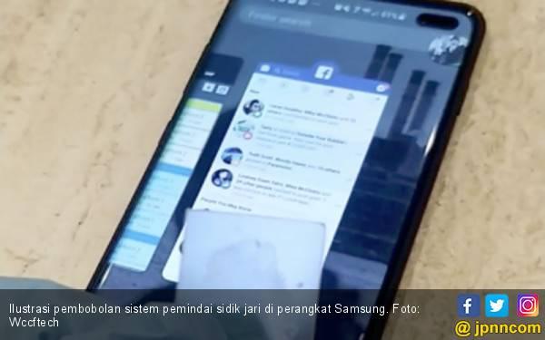 Sistem Pemindai Sidik Jari Bawah Layar Samsung Bobol - JPNN.com