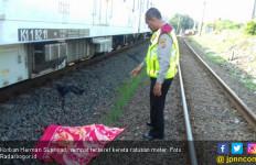 Terobos Pintu Rel, Pengendara Motor di Bogor Tewas Mengenaskan - JPNN.com
