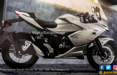 Suzuki Gixxer SF 250 Mulai Pancing Emosi Honda CBR250RR dan R25 - JPNN.com