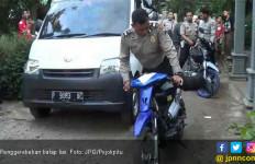Tempat Geng Balap Liar Diacak - acak Polisi, Pembalap Kocar - Kacir - JPNN.com