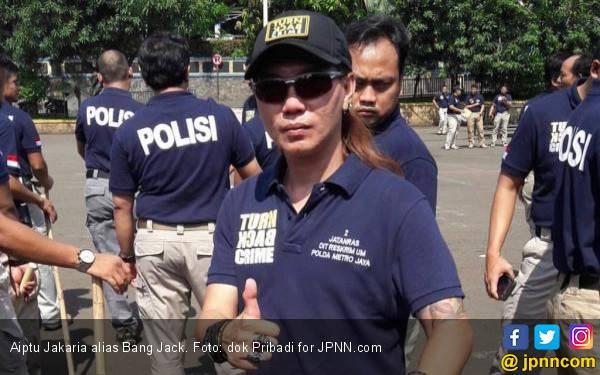 Aiptu Jakaria alias Bang Jack, Tertembak 11 Kali, Sosok Humoris, Heroik! - JPNN.com