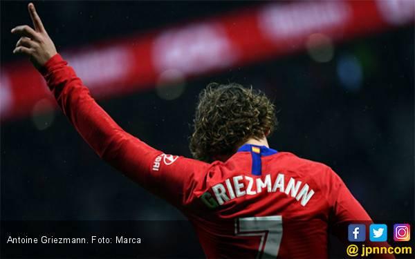 Griezmann Pastikan Tinggalkan Atletico Madrid - JPNN.com