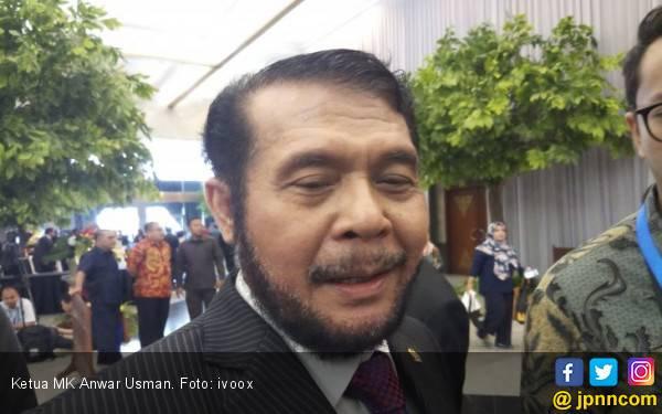 Kata Ketua MK soal Curhatan Oesman Sapta Odang - JPNN.com