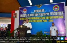 Menhan Sebut Alumni SMA TN Harus Melaksanakan Nilai-Nilai Pancasila - JPNN.com