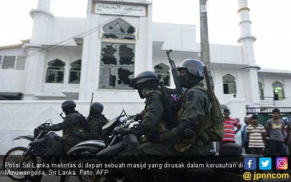 Muslim Sri Lanka Terus Jadi Sasaran, Polisi dan Tentara Tak Berdaya - JPNN.com