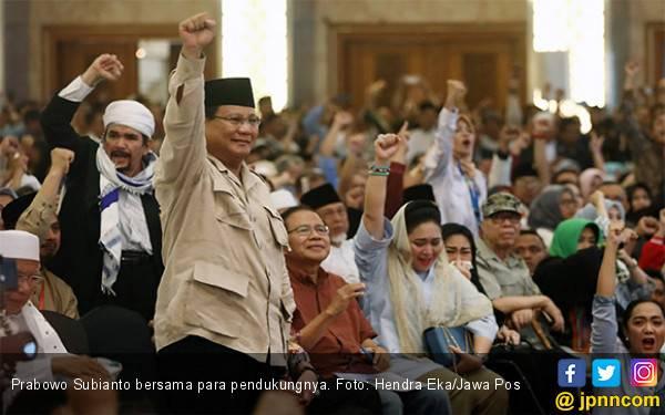 Pesan Penting Prabowo Subianto untuk Para Pendukungnya - JPNN.com