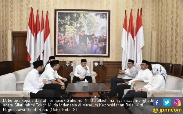 Gubernur NTB Hadiri Silaturahmi Tokoh Muda Indonesia - JPNN.com