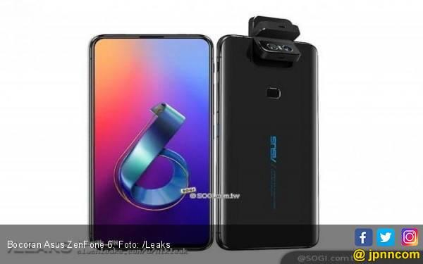 Asus ZenFone 6 Bakal Hadir dengan Konsep Kamera Unik - JPNN.com