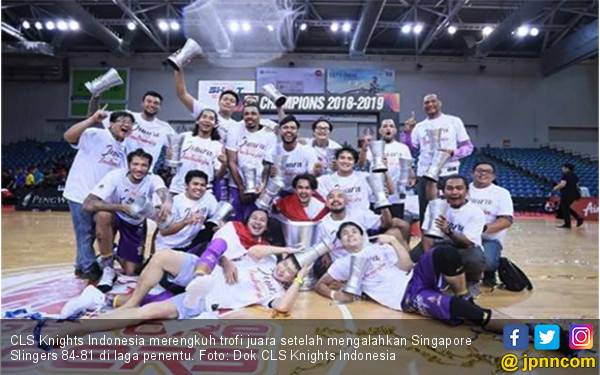 CLS Knights Indonesia Jawara ASEAN Basketball League - JPNN.com