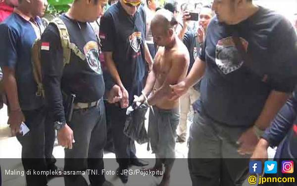 Uji Nyali Curi Laptop di Asrama TNI, Babak Belur deh Mas.. - JPNN.com