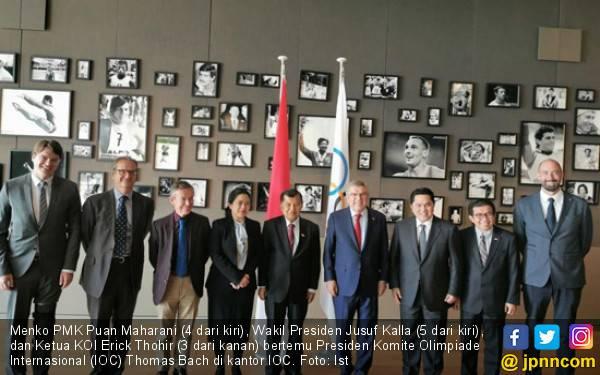 Indonesia Semakin Serius Maju Sebagai Calon Tuan Rumah Olimpiade 2032 - JPNN.com