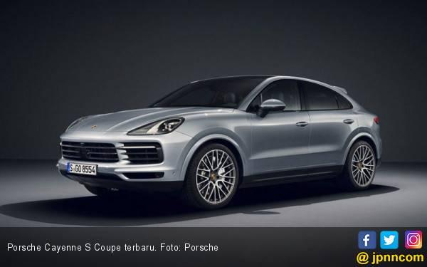 Porsche Cayenne S Coupe Dipoles Lebih Beringas - JPNN.com