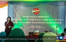 Beri Makanan Sehat ke KPPS, Relawan Pertiwi: Mereka Pahlawan Demokrasi - JPNN.com