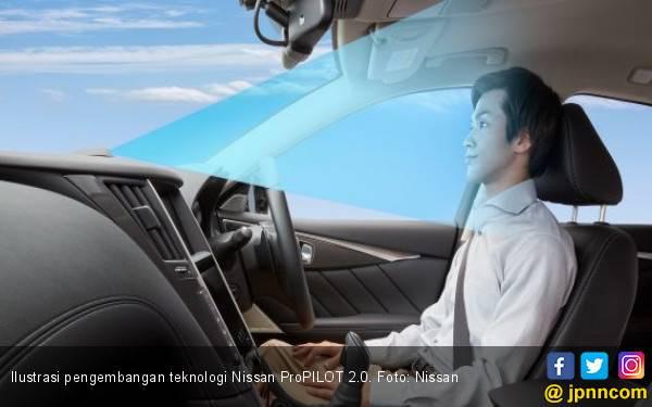 Mobil Nissan Sudah Bisa Dikemudikan Tanpa Bantuan Tangan - JPNN.com