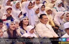Bamsoet Ajak Anak Yatim Mendoakan Bangsa Indonesia Tetap Jaya - JPNN.com