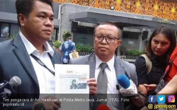 Pengacara Sebut Ani Hasibuan jadi Target Kriminalisasi, Kejar Tayang - JPNN.com