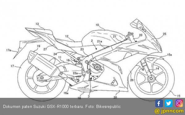 Suzuki GSX-R1000 Terbaru Bakal Bawa Teknologi MotoGP - JPNN.com