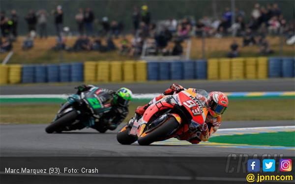Start Paling Depan di MotoGP Prancis, Marquez Samai Rekor Rossi - JPNN.com