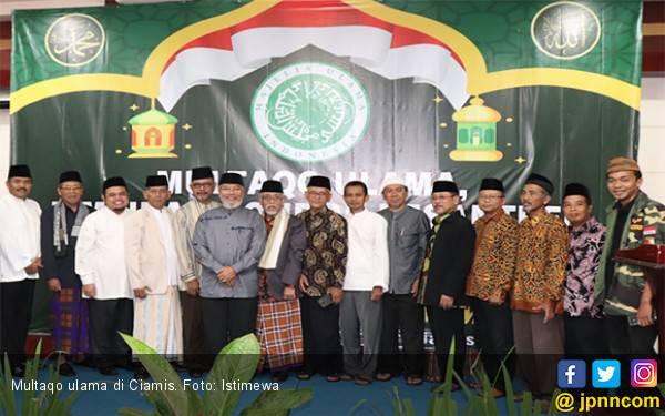 Multaqo Ulama Ciamis Tolak People Power Karena Tak Baik Untuk Negara dan Agama - JPNN.com