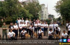 Hendropriyono Siap Pinjamkan Ratusan Anjing Terlatih Bantu Pengamanan 22 Mei - JPNN.com