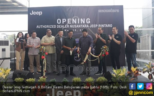Dealer Jeep Termegah Resmi Beroperasi di Kawasan Bintaro - JPNN.com
