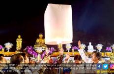 Hadiri Perayaan Waisak, Hasto Singgung Pengingkar Suara Rakyat - JPNN.com
