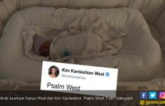 Makna di Balik Nama Anak Keempat Kim Kardashian, Psalm West - JPNN.com