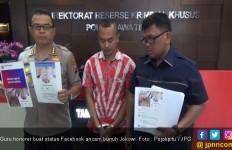 Astaga ! Guru Honorer Buat Status di Facebook Ancam Bunuh Jokowi - JPNN.com
