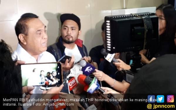 Imbauan Pak Menteri untuk Honorer K2 yang Pengin Mendapat THR seperti PNS - JPNN.com