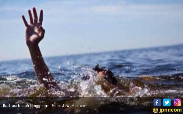 Bocah 5 Tahun Terseret Aliran Kali di Tangsel - JPNN.com