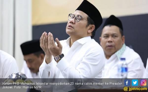 Muhaimin Gerak Cepat, Sodorkan 20 Nama Calon Menteri ke Jokowi - JPNN.com