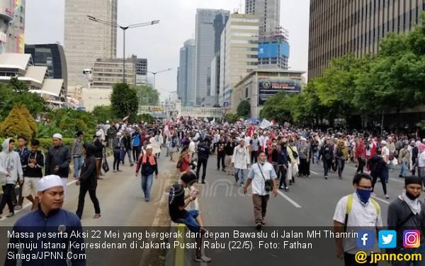 Siap-siap, Massa Aksi 22 Mei di Depan Bawaslu Bergerak ke Istana - JPNN.com