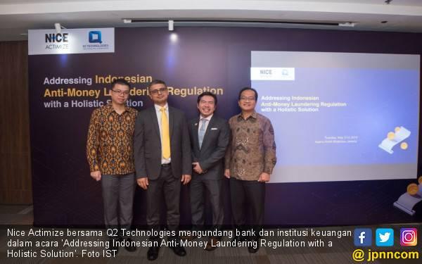Nice Actimize & Q2 Technologies Ajak Bank dan Institusi Keuangan Diskusi Anti-Money Laundering - JPNN.com