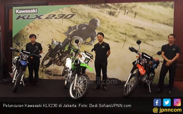 Kawasaki Merilis Motor Dual Purpose KLX 230 Cc, Harga Mulai Rp 40 Jutaan - JPNN.com